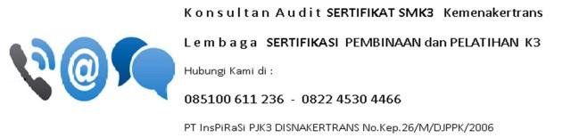 sertifikat smk3 CSMS K3LL dewan windu